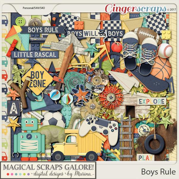 Boys Rule (page kit)