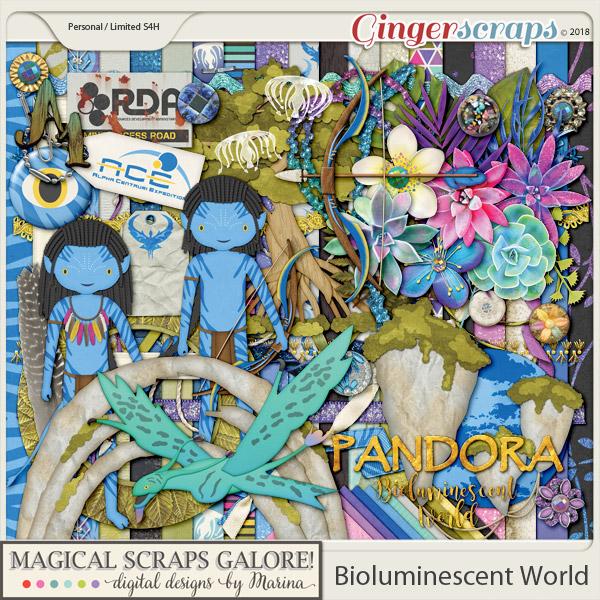 Bioluminescent World (page kit)