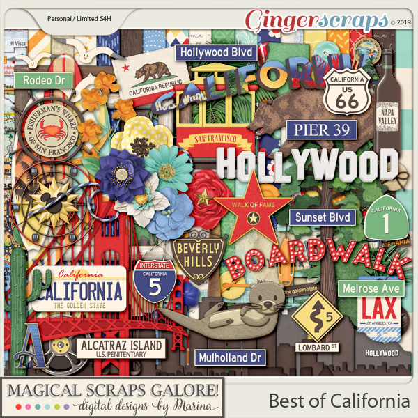 Best of California (page kit)