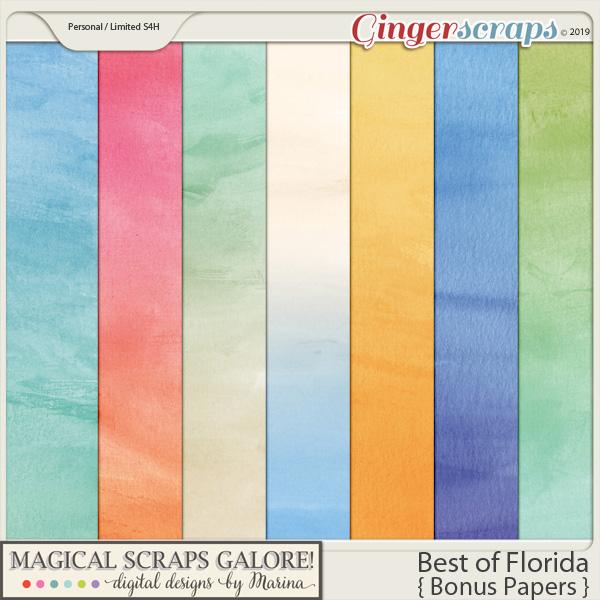 Best of Florida (bonus papers)