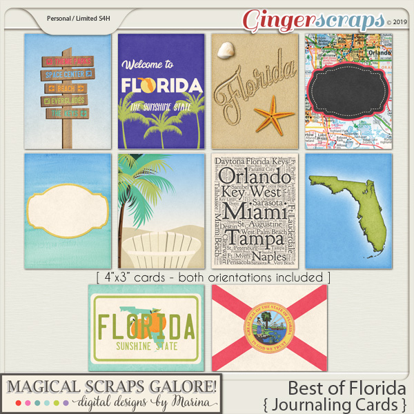 Best of Florida (journaling cards)