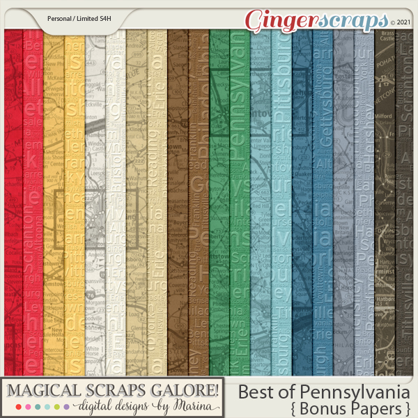 Best of Pennsylvania (bonus papers)