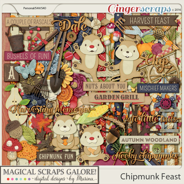 Chipmunk Feast