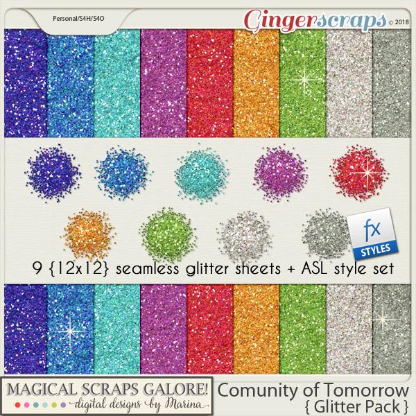 Community of Tomorrow (glitter pack)