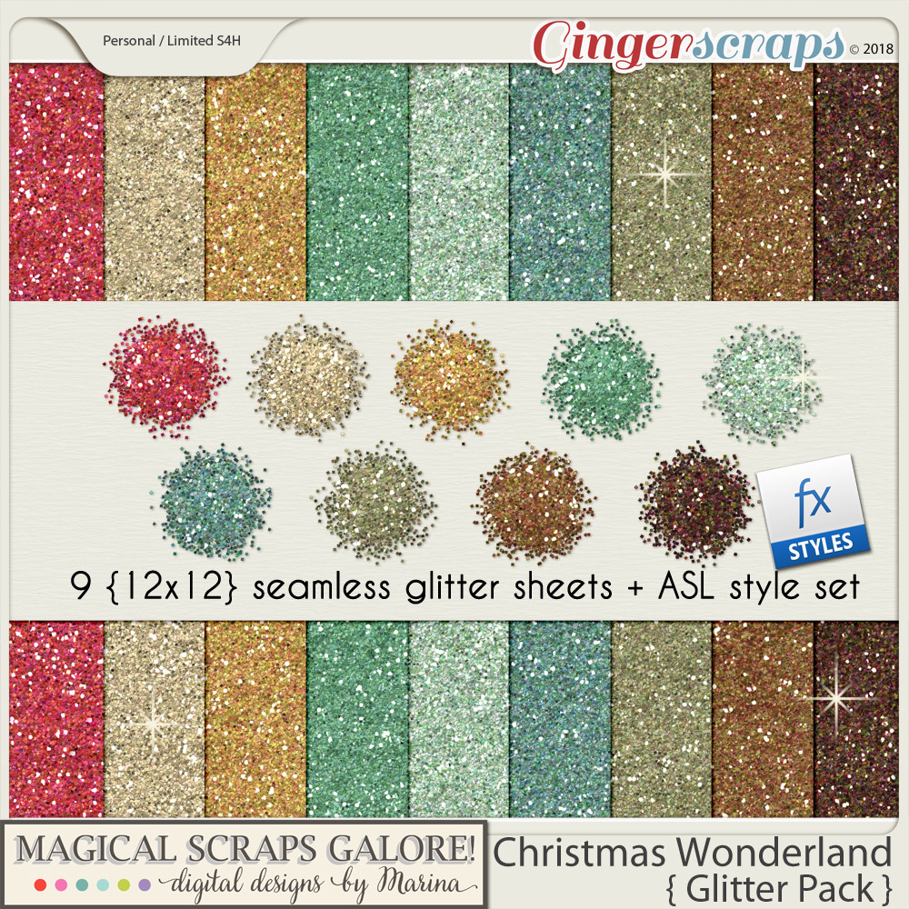 Christmas Wonderland (glitter pack)