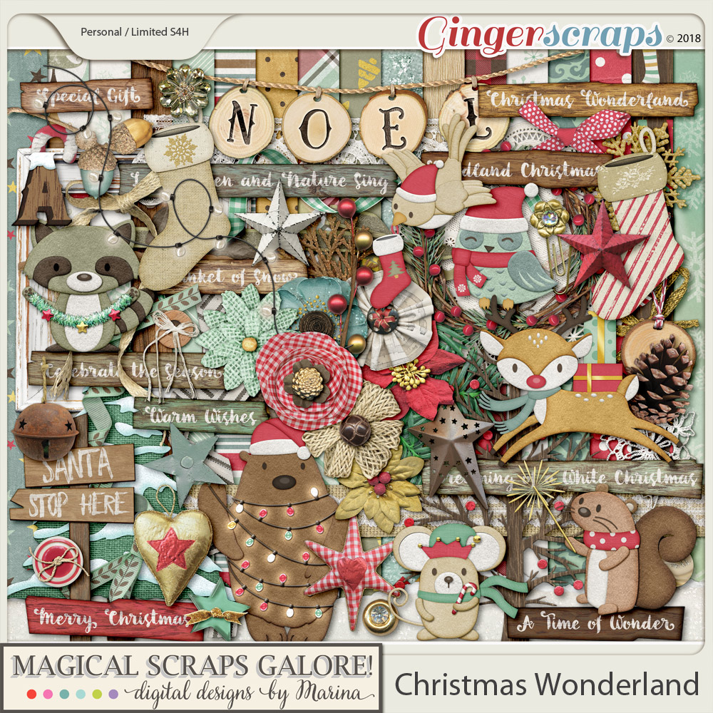 Christmas Wonderland (page kit)