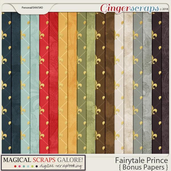 Fairytale Prince (bonus papers)
