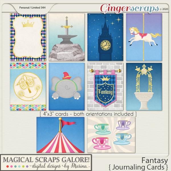 Fantasy (journaling cards)