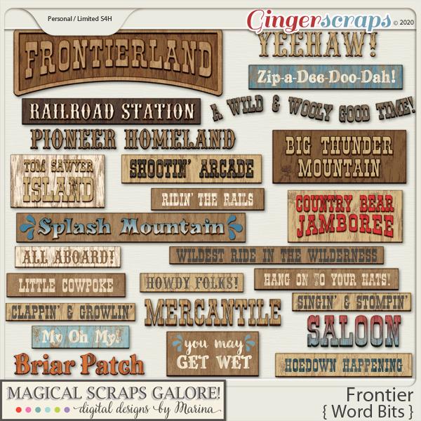 Frontier (word bits)