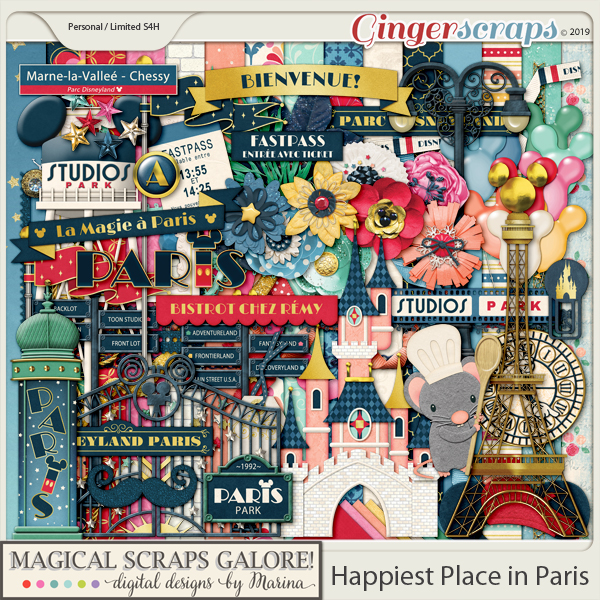 Happiest Place in Paris (page kit)