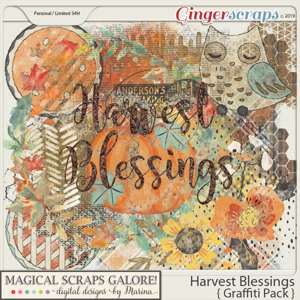 Harvest Blessings (graffiti)