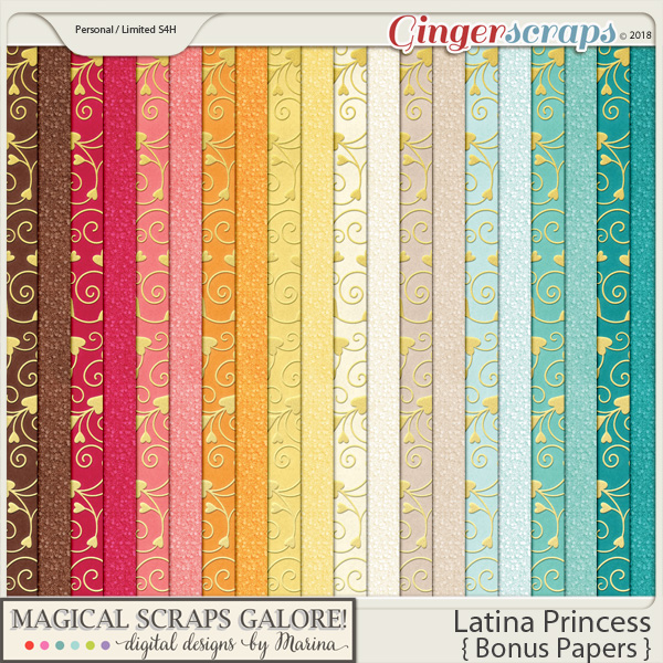 Latina Princess (bonus papers)