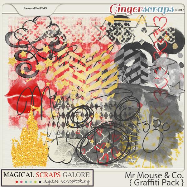Mr Mouse & Co (graffiti pack)