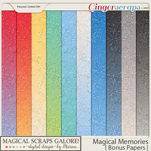 Magical Memories (bonus papers)