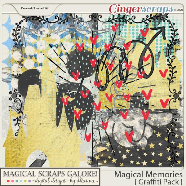 Magical Memories (graffiti pack)