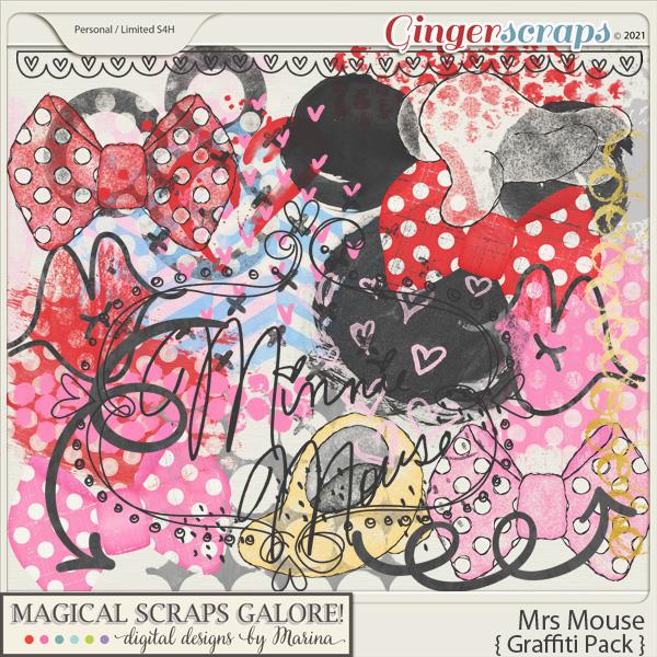 Mrs Mouse (graffiti pack)
