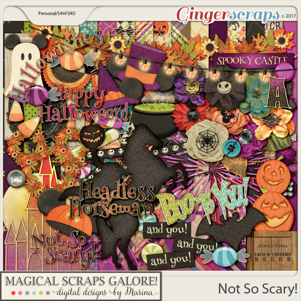 Not So Scary! (page kit)