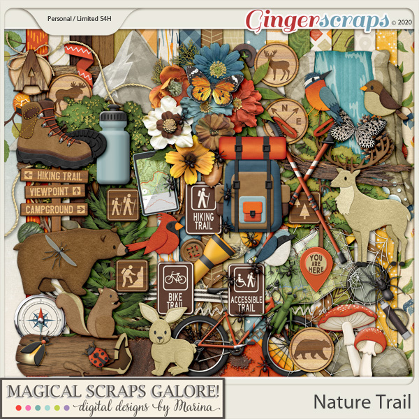 Nature Trail (page kit)