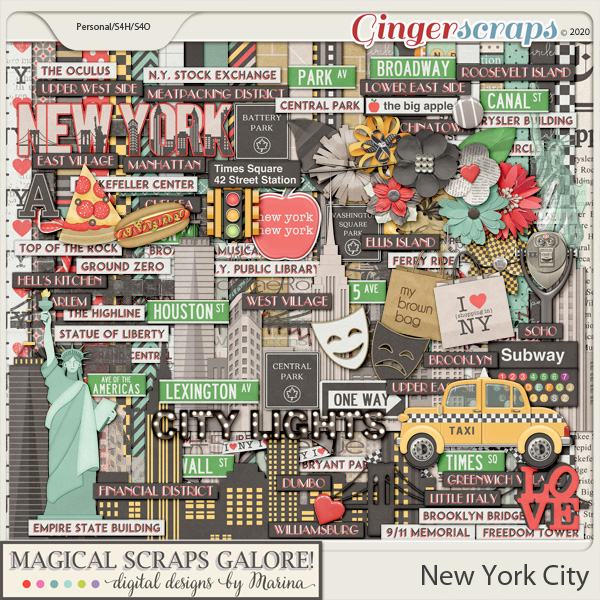 New York City (page kit)