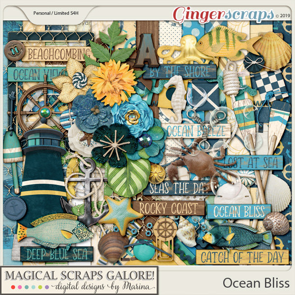 Ocean Bliss (page kit)
