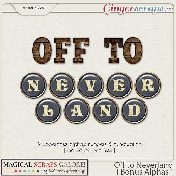 Off To Neverland (bonus alphas)