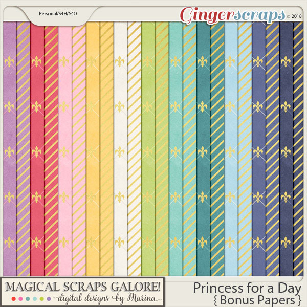 Princess for a Day (bonus papers)