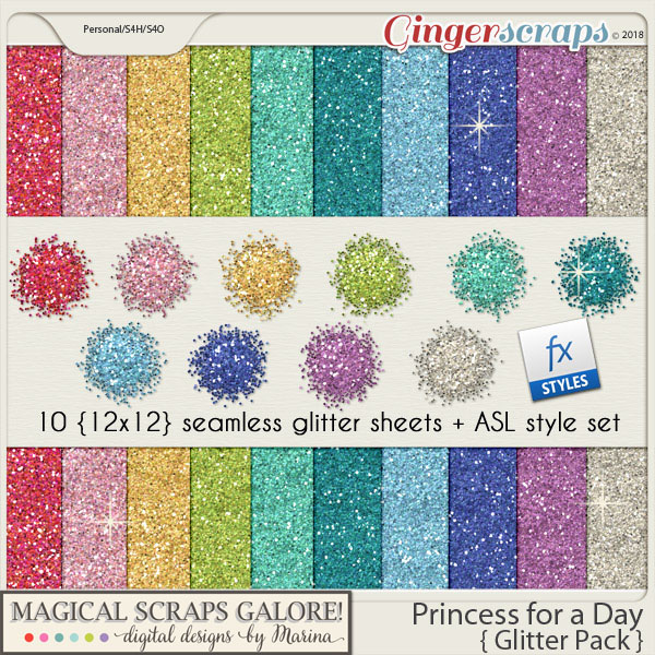 Princess for a Day (glitter pack)