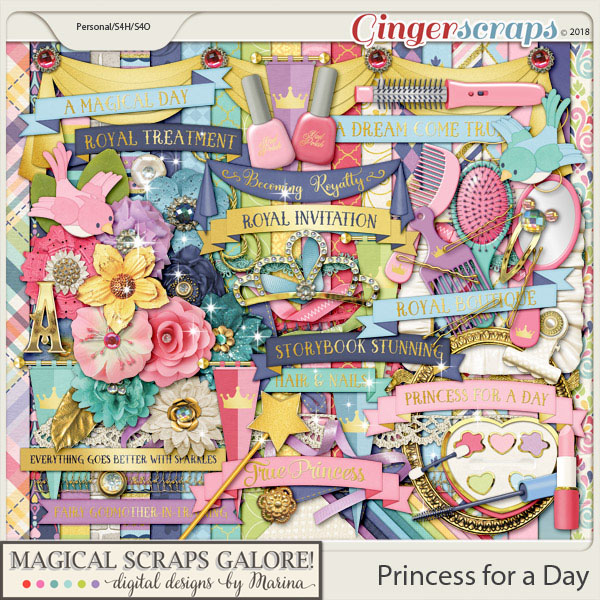 Princess for a Day (page kit)