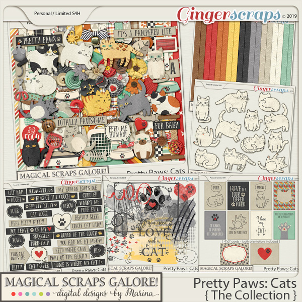 Pretty Paws: Cats (collection)