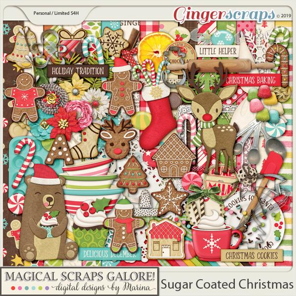Sugar Coated Christmas (page kit)