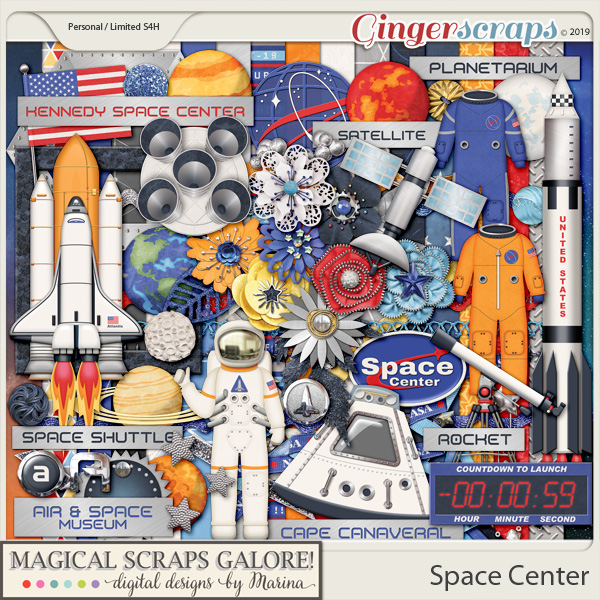 Space Center (page kit)
