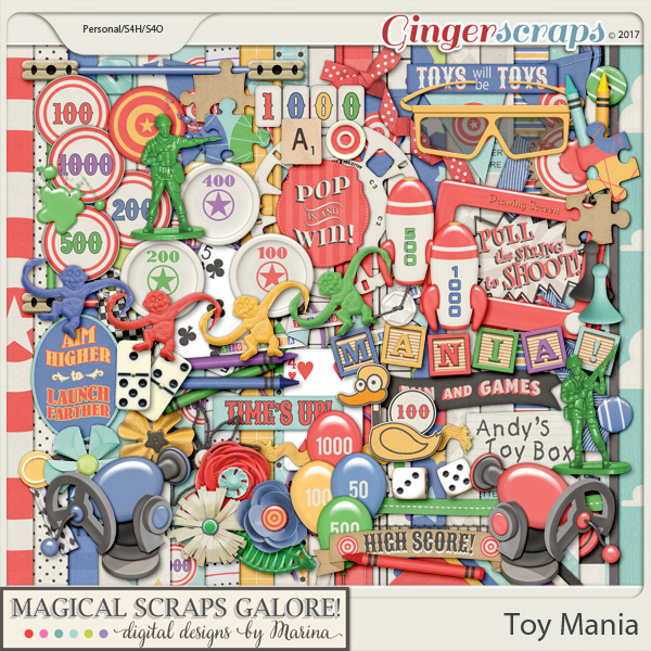 Toy Mania (page kit)