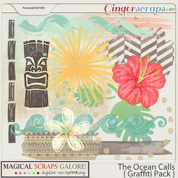 The Ocean Calls (graffiti pack)