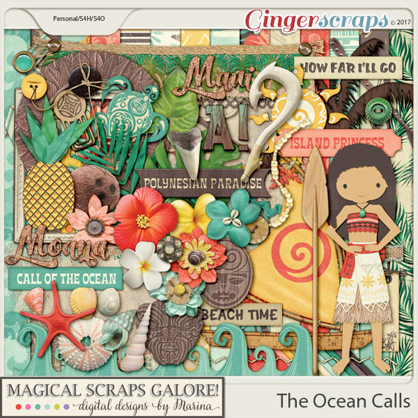 The Ocean Calls (page kit)