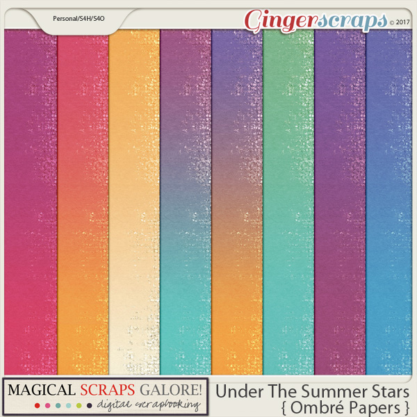 Under The Summer Stars (ombré papers)