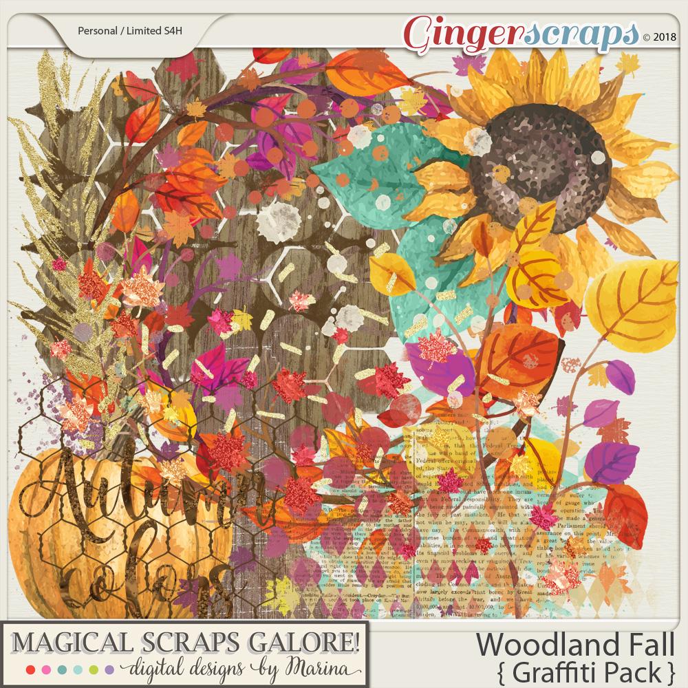 Woodland Fall (graffiti pack)