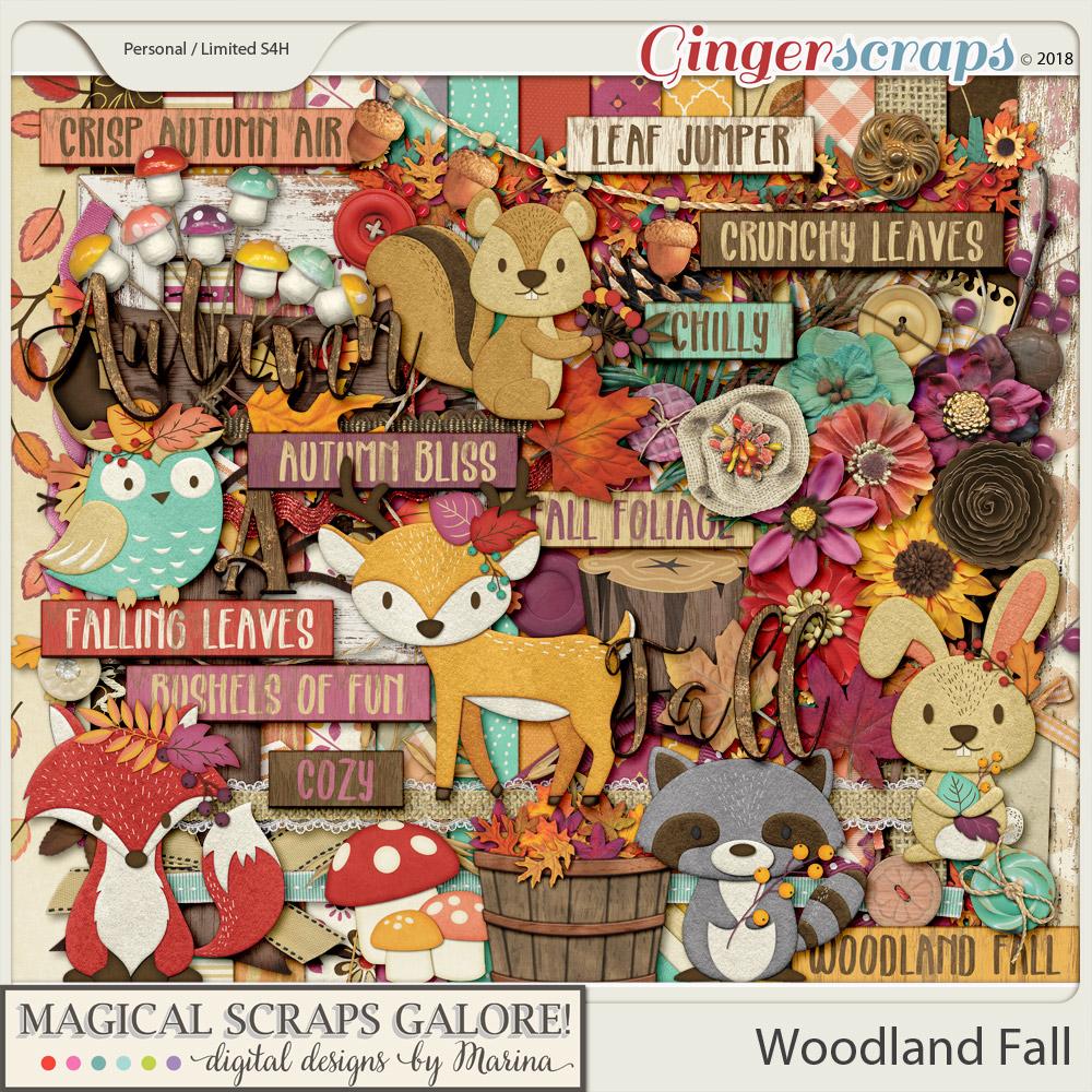 Woodland Fall (page kit)