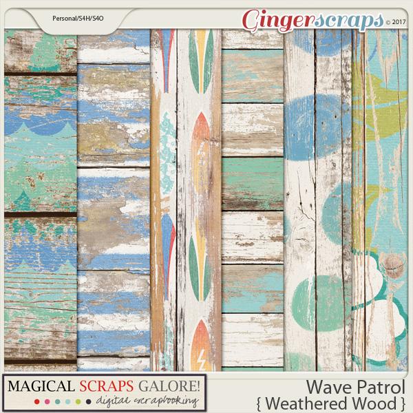 Wave Patrol (shabby woods)