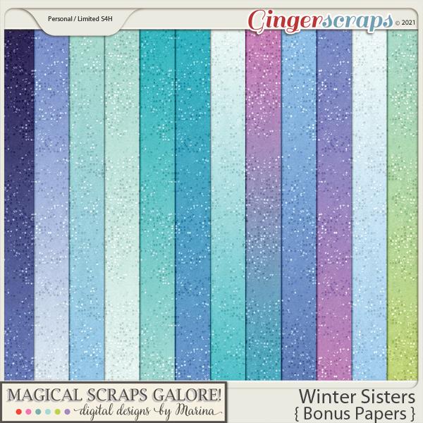 Winter Sisters (bonus papers)