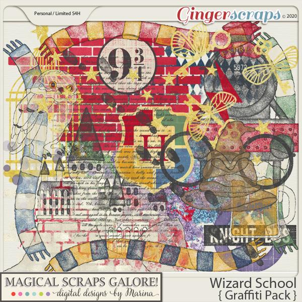 Wizard School (graffiti pack)