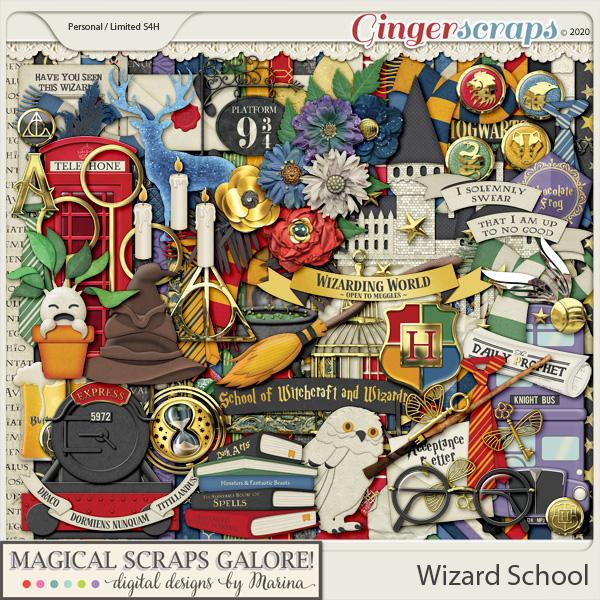 Wizard School (page kit)