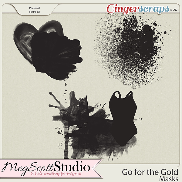 Go for the Gold - Masks