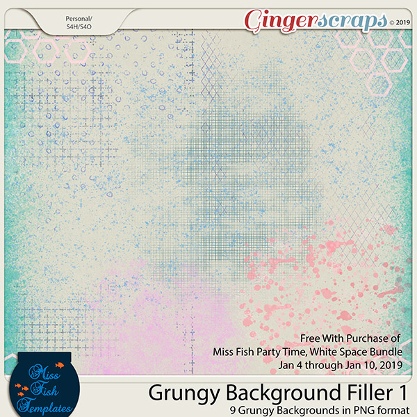 Grungy Background Filler 1 by Miss Fish