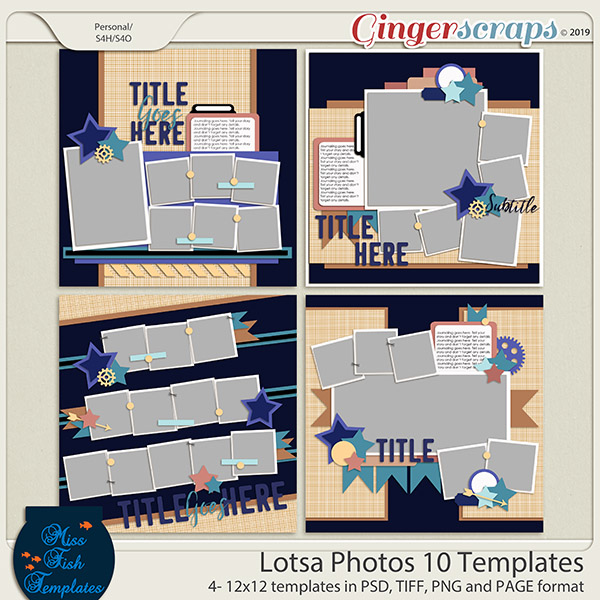 Lotsa Photos 10 Templates by Miss Fish