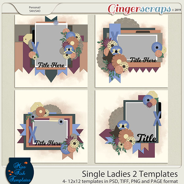 Single Ladies 2 Templates by Miss Fish