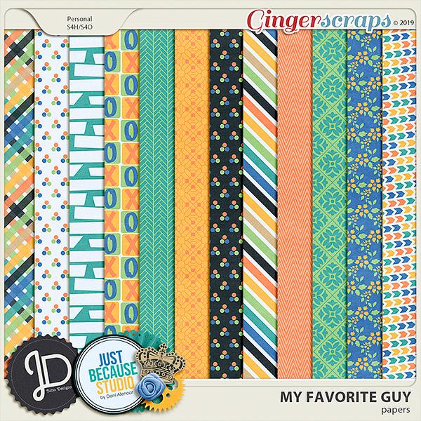 My Favorite Guy Papers by JB Studio