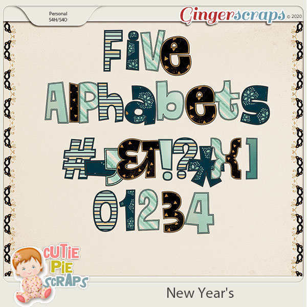 New Year's Alphabets