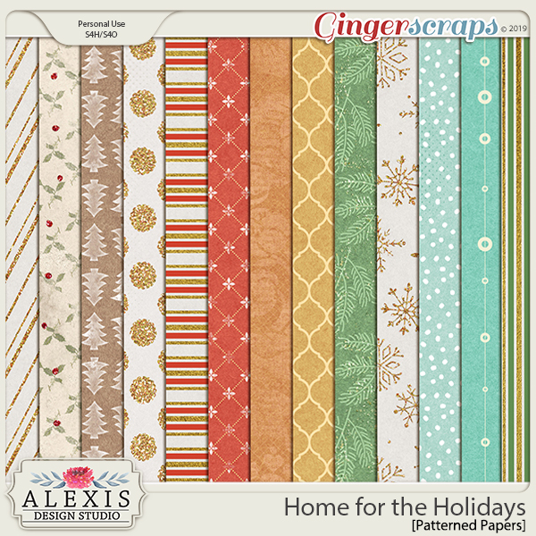 Home for the Holidays - Paper Pack