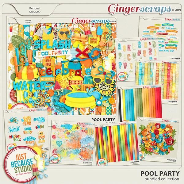 Pool Party Bundle by JB Studio