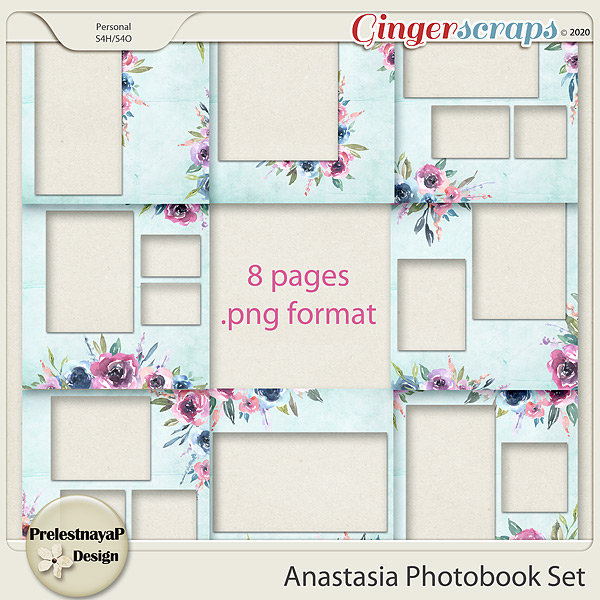 Anastasia Photobook Set